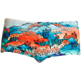 Funky Trunks Plain Front Boxer de bain Homme, misty mountain
